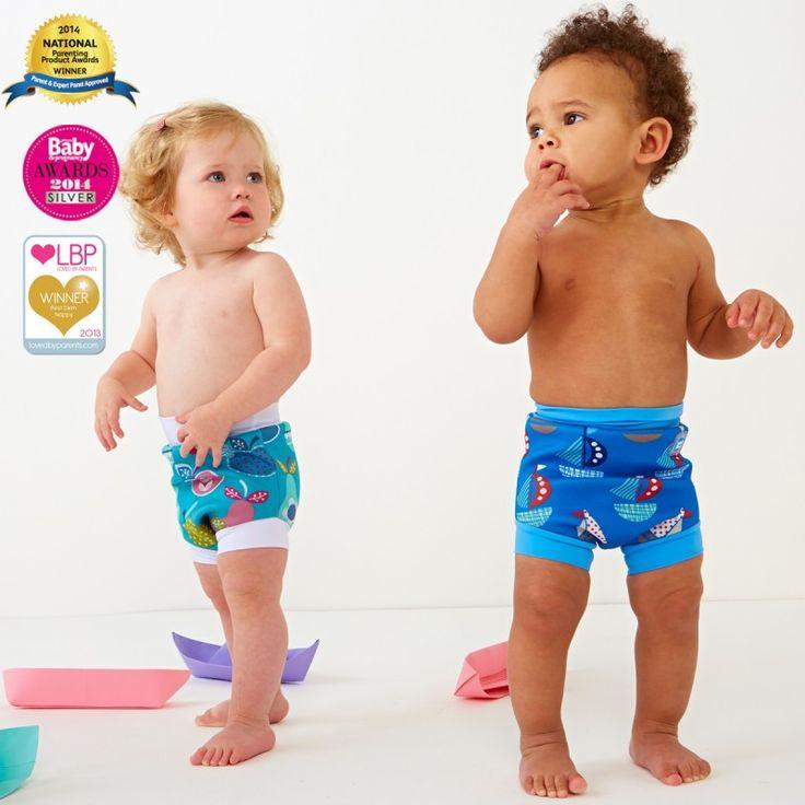 Happy Nappy Yıkanabilir Bebek Yüzme Mayosu