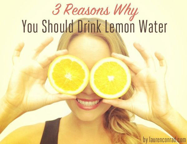 3 reasons why you should be drinking lemon water #health
