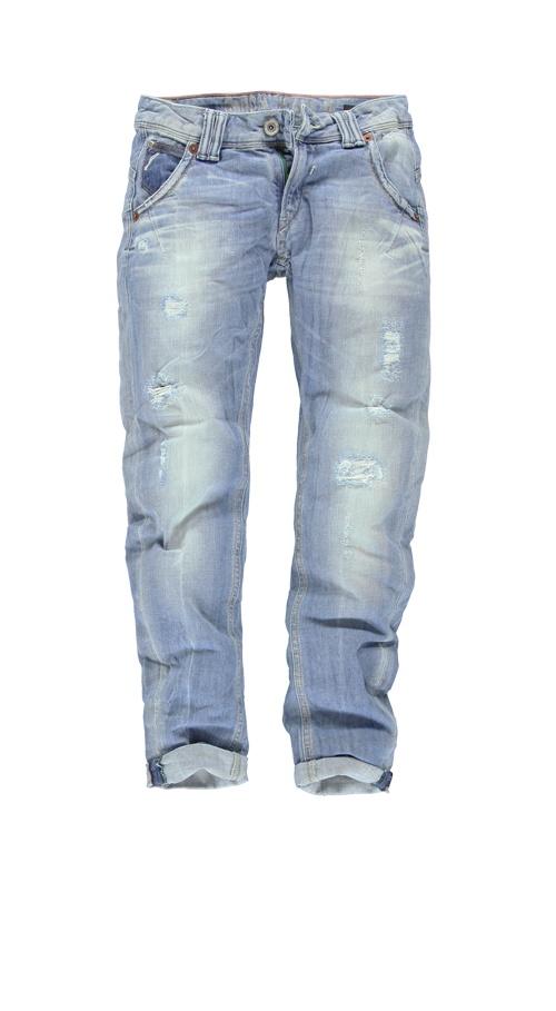 Capri jeans Garcia C30115 LAURI CROPPED WOMEN 160 Spr. lt. bl.scrape