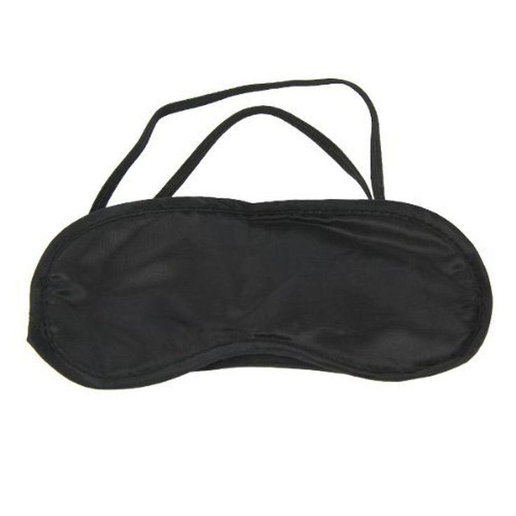 Blackout Eye Mask 2 PC Rest Travel Plane Air Sleep Blindfold Aid Shade