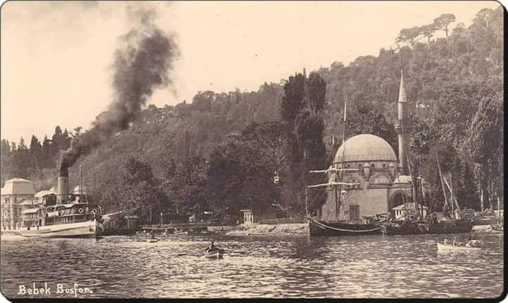 """""""@IstanLOOK: Ağaçlar, deniz ve Bebek semti (1930'lar) """""""