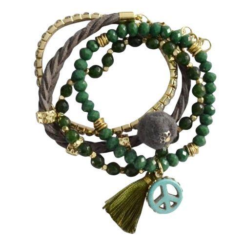 Armbandjes groen #ohsohip