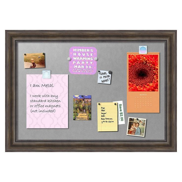 magnetic bulletin board decorations boards wall diy fabric ideas