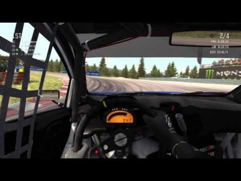 Simracing (Onboard Dirt RallyCross) - YouTube