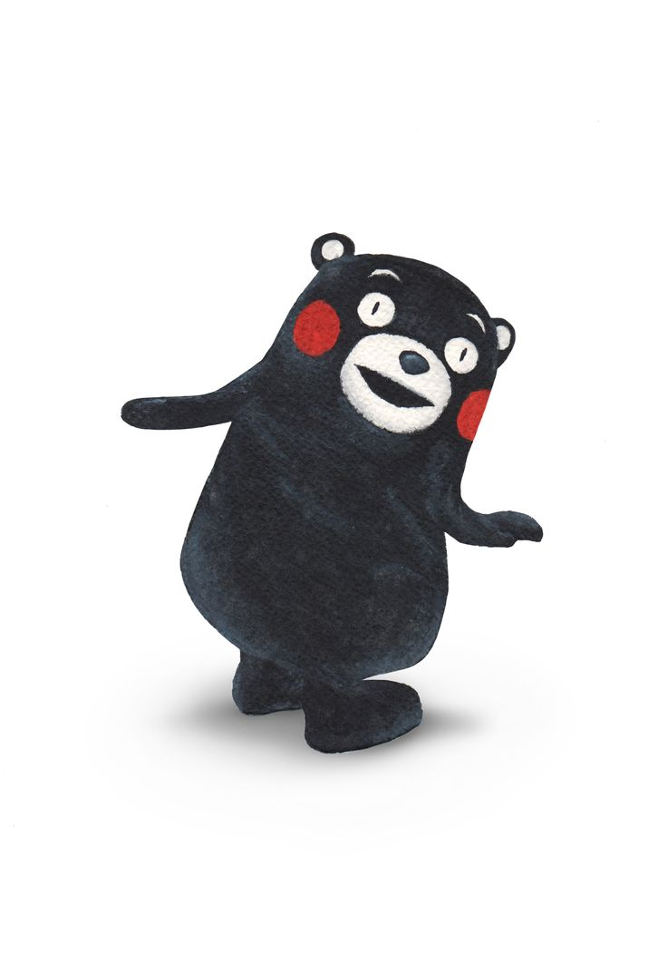 Day 26 - The quirky Kumamoto mascot's fame reaches all prefectures in Japan. His face can be seen on fresh produce packaging in most supermarkets. Kumamon is my spirit animal.