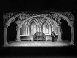 Image result for stage flats used in productions black and white