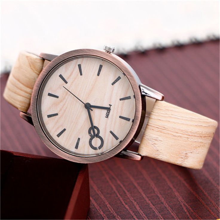 Vintage Wood Graining Wooden Watch (8 Types) //Price: $13.52 & FREE Shipping //     #hashtag1
