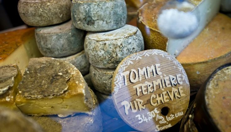 A whiff of fromage and a tomme - Mattis' Fromagerie visit by Le Chardon chefs