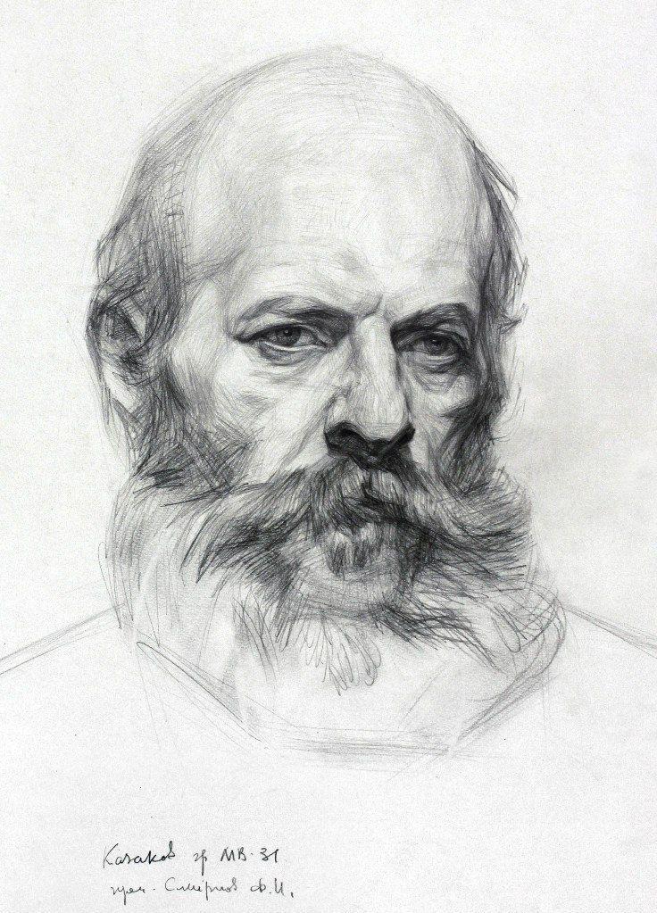 академический рисунок. портрет. графика