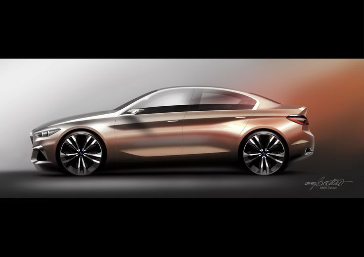 BMW Concept Compact Sedan Previews 1- Or 2-Series Sedan