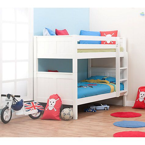 Buy John Lewis Gerry Bunk Bed, White Online at johnlewis.com