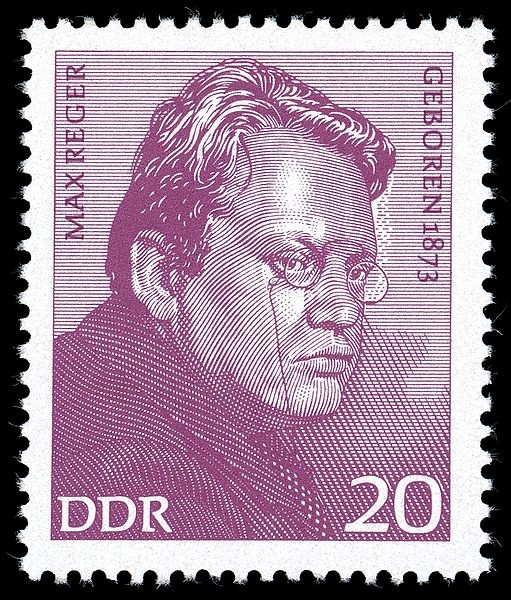 Bedeutende Persönlichkeiten (I): Max Reger (1873–1916), Komponist