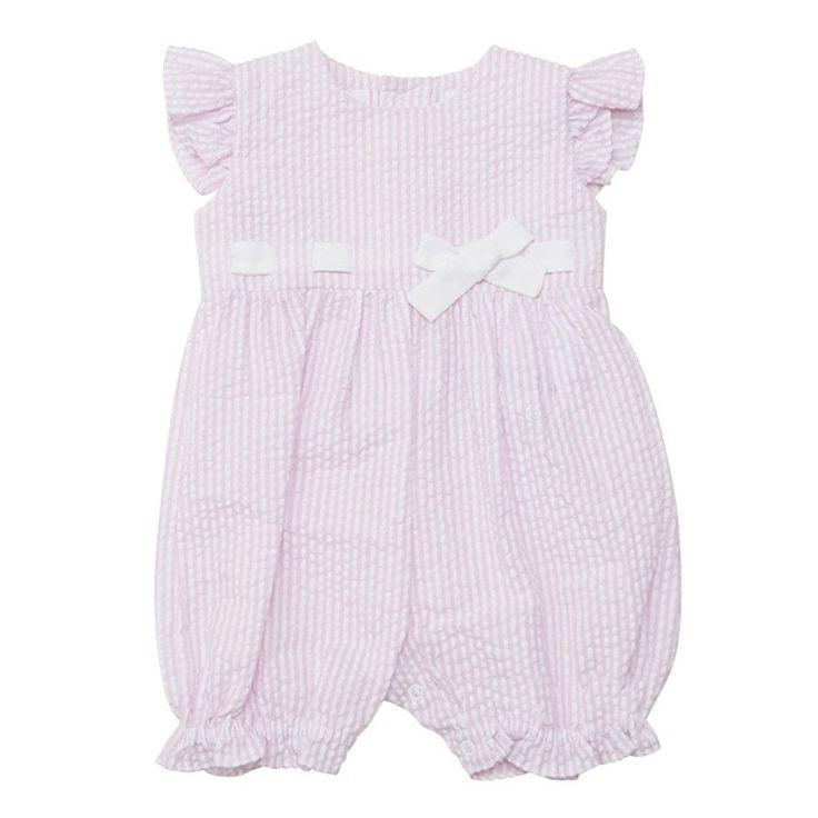 Sweet Style Romper- Light Pink KS4249 CS - Clothing - girls - Baby Belle