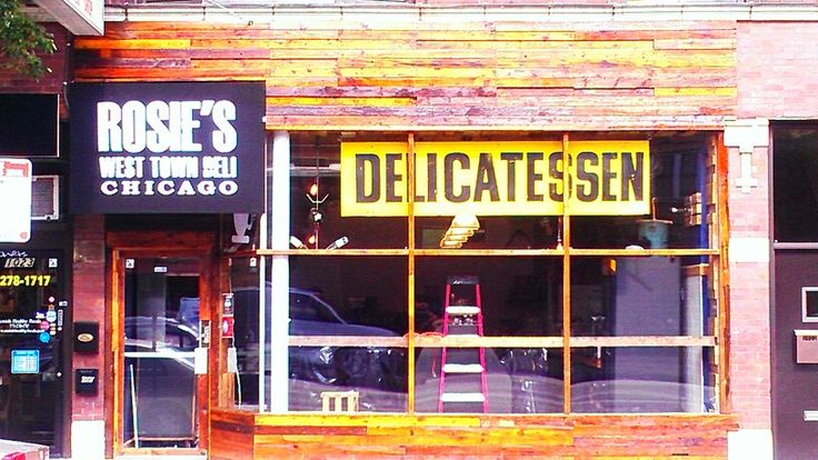ROSIE'S WEST TOWN DELI OPENS JULY 25 TH . Come and get it !