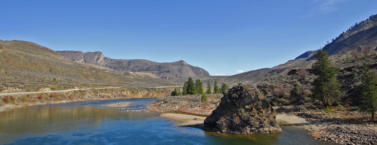 Similkameen River near Oroville, WA