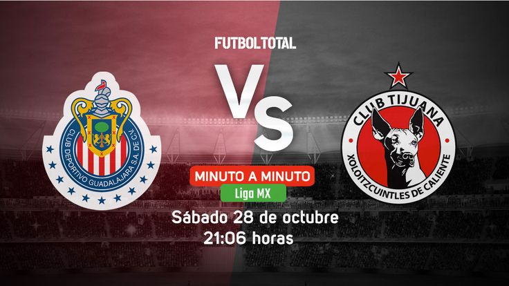 Chivas vs Xolos Tijuana | Liga MX | EN VIVO Minuto a minuto - Futbol Total