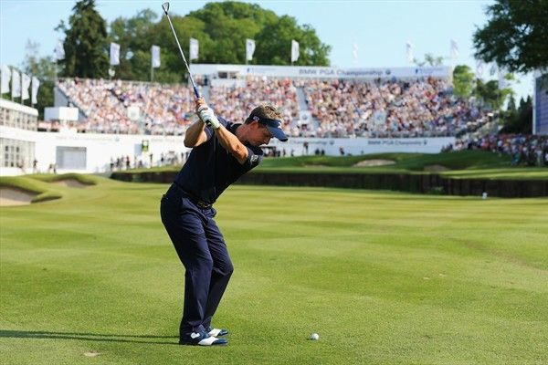 Luke Donald with a hat-trick of BMW PGA Championship titles in his sights!