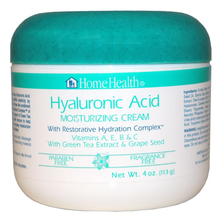 Hyaluronic Acid Moisturizing Cream, 4 Oz, Home Health | Free Shipping