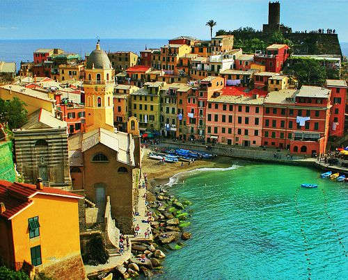 Cinque Terre, Italy--been here once, must go back