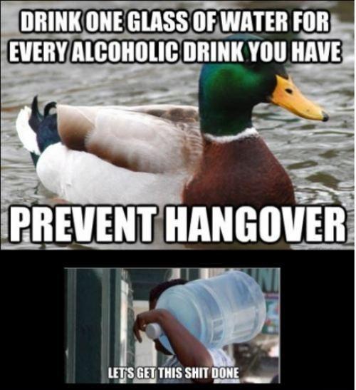 prevent hangover