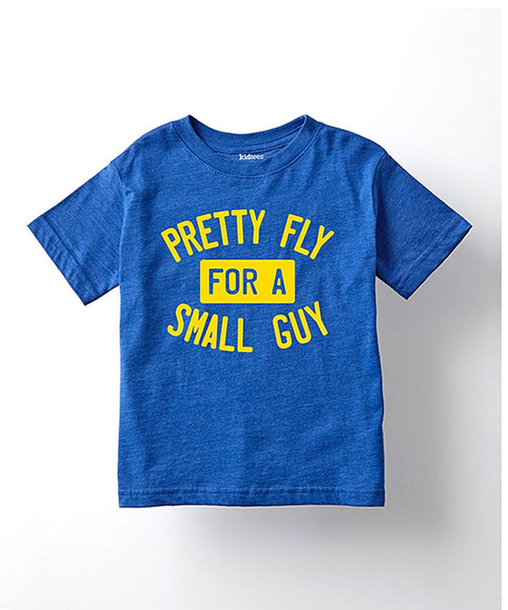 Another great find on #zulily! Royal Blue 'Pretty Fly for a Small Guy' Tee - Toddlers & Boys by LC Trendz #zulilyfinds