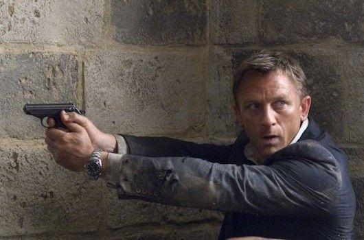 Skyfall, Bond. 2012.
