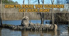 How to Camouflage Your Kayak for a Perfect DIY Duck Boat [PICS]