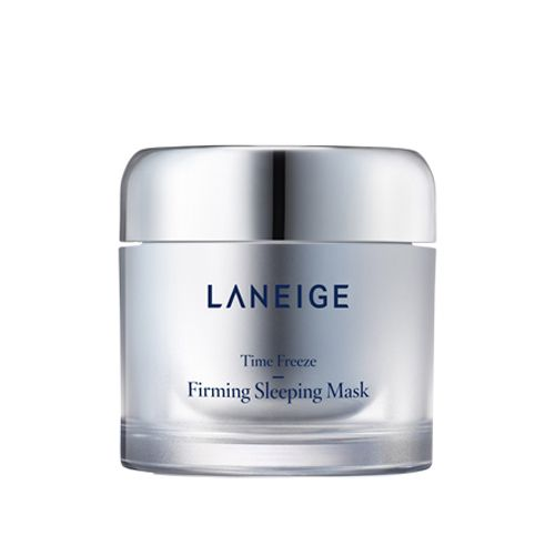 LANEIGE Time Freeze Firming Sleeping Mask 60ml    Features  An anti-aging sleeping mask that improves skin firmness and facial contours overnight for a more youthful-looking face  Elasticity & Face-Fit Sleeping Mask created by Laneige, a sleeping care