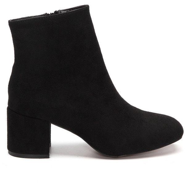 1000  ideas about Black Chunky Heels on Pinterest | Black high ...