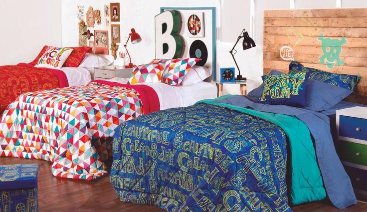 ¡Prepárate para el invierno con estas opciones de cobertores! #Muebles2014 #Dormitorio #Colors #Easy #EasyTienda #Invierno  http://www.easy.cl/oferta-mantas-polar