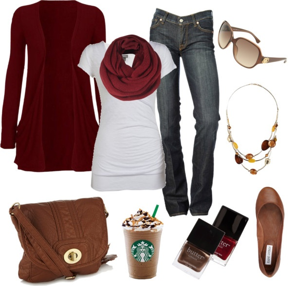 fall!: Casual Outfit, Style, Color, Clothes, Fashionista Trends, Fall Outfits, Fall Fashion, Fall Winter, Fall Red