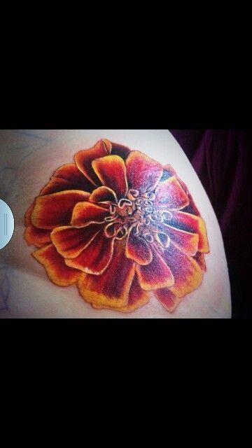 ... Marigold | Tattoos | Pinterest | Marigold Tattoo Tattoo and Tattoo
