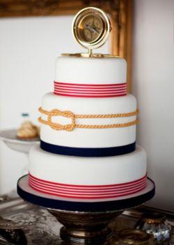 fun nautical cake.