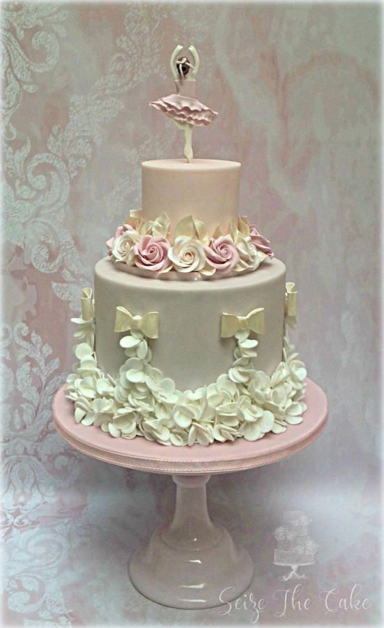 Ballerina Birthday Cake by Seize The Cake