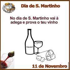 Dia de S.Martinho vai á adega e prova o vinho.