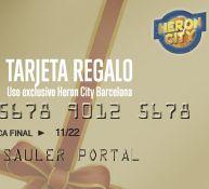 El rediseño de la tarjeta regalo del centro comercial Heron City Barcelona.