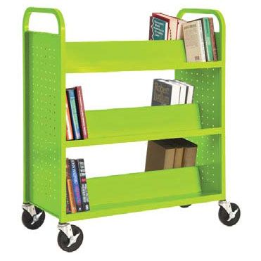 Sandusky Lee SV336 Mobile Book Truck Storage Cart {Pin it to Win it 5/1/13 to 5/31/13}