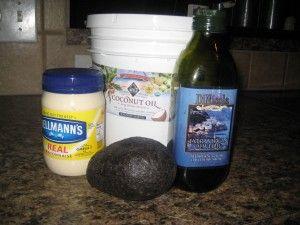 homemade keratin
