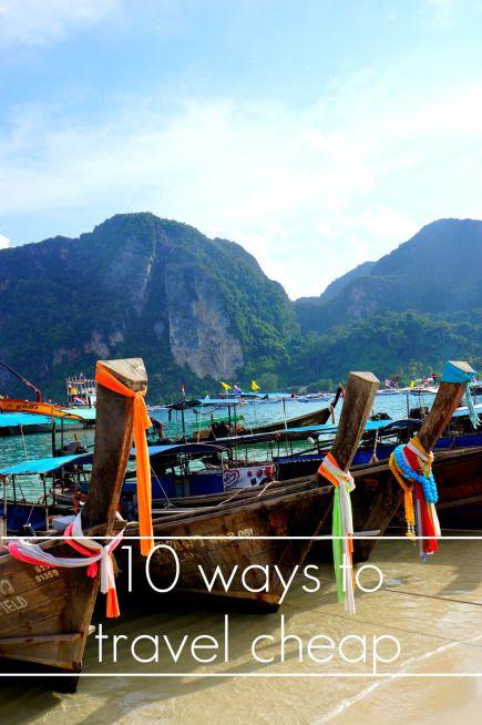 10 ways to TRAVEL CHEAP. (Headed Somewhere)