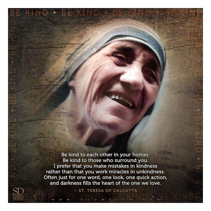 www.Schmalen.com  St. Teresa of Calcutta / Mother Teresa