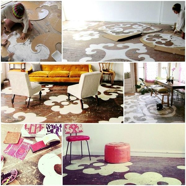 17 meilleures id es propos de sol au pochoir sur pinterest peindre des carreaux mod les de. Black Bedroom Furniture Sets. Home Design Ideas