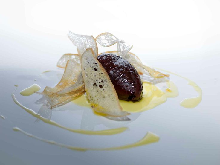 Pan con aceite y chocolate , Restaurante Tierra de Olivos #plato #gastronomia #restaurante #restaurant #Hotel #VeredaReal #hotels #Sevilla #Seville #Andalucia #Spain