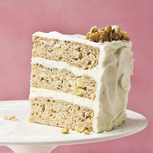 Hummingbird Cake | It's the most requested recipe in Southern Living magazine history and frequents covered dish dinners all across the South, always receiving rave reviews.: Desserts Recipe, Layered Cakes, Hummingbirds Cakes, Covers Dishes, Southern Living Magazines, Hummingbird Cake, Frequent Covers, Cakes Recipe, Dishes Dinners