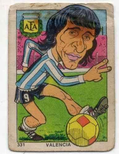 Valencia #331 - Argentina 1976