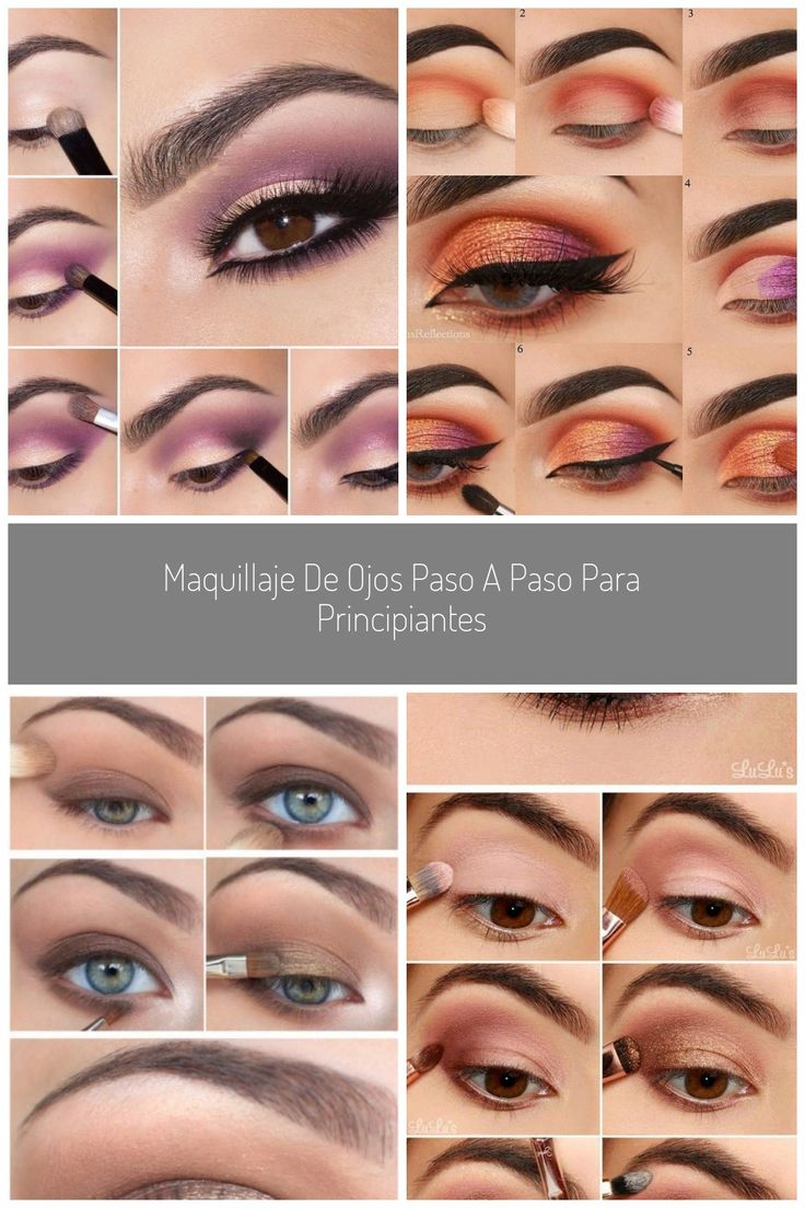 Maquillaje de OJOS PASO a PASO para PRINCIPIANTES