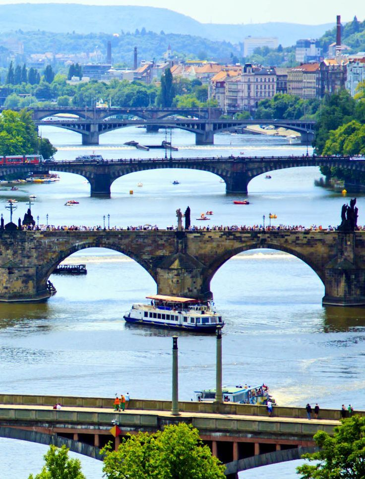 Awesome View Of Vltava River, Prague – Czech Republic