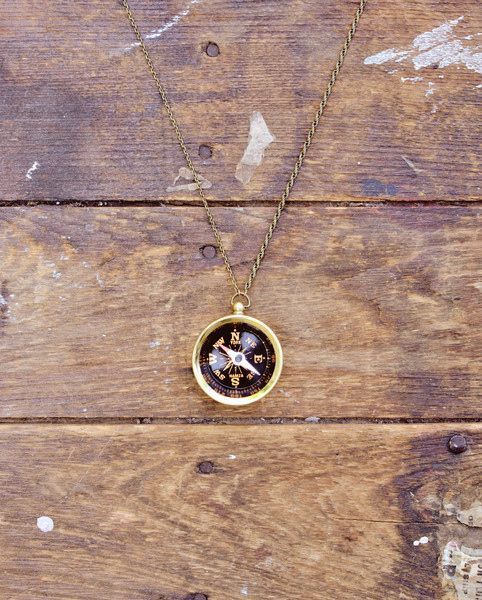 For the one who is always getting lost (but you never want to lose): | 38 Perfect Jewelry Gifts For The One You Love