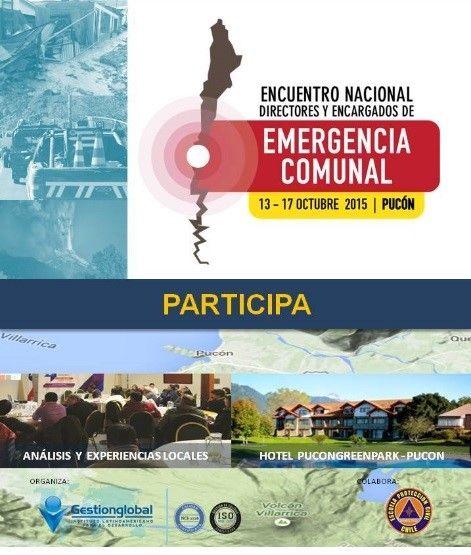 Gestión de Terremotos.: Encuentro Nacional