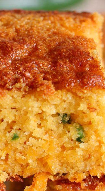 Jalapeno Cheddar Honey Cornbread