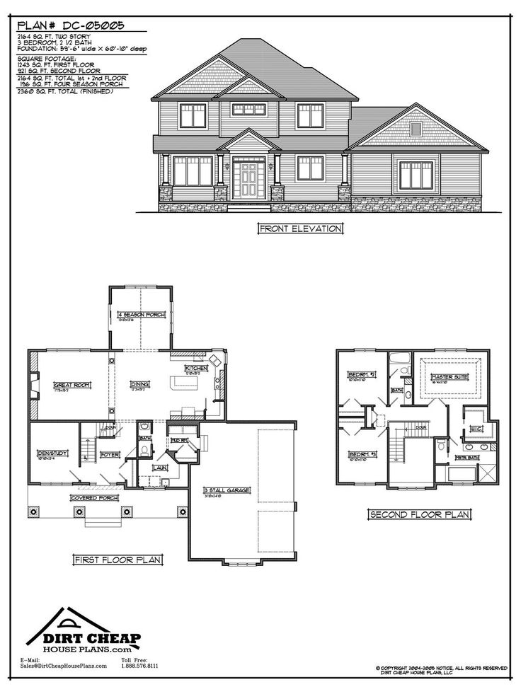 2 Story House Floor Plans And Elevations 47 best two story house plans images on pinterest | country house